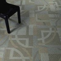 Mannington Commercial - Modular Carpet Tile Landmark Canton with Infinity RE (0) - Stock Image