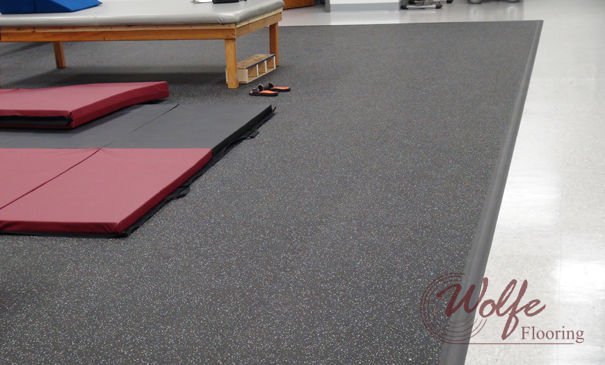 Vulcanized Rubber Flooring - Recycled Solid Rubber Tile