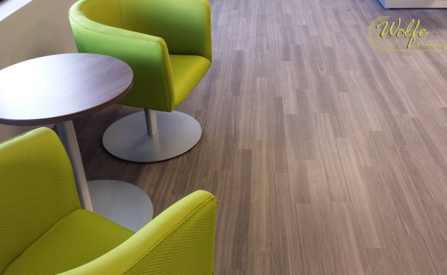 2015-07-30 Pharmaceutical Call Center and Lab 1 – Amtico Luxury Vinyl Plank