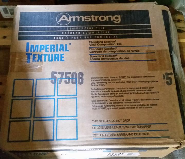 Armstrong VCT 57506 Colorado Stone - Box