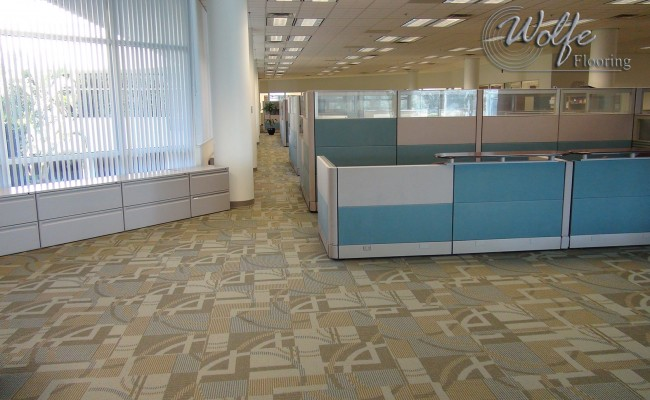 Manning Commercial Vinyl Tile Aerospace Co Flooring