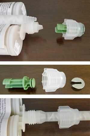 Instructions to Attach Nozzle