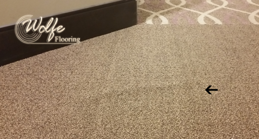 Carpet Wrinkle in Double-Stick Installation