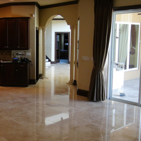 Davis Island Polished Travertine