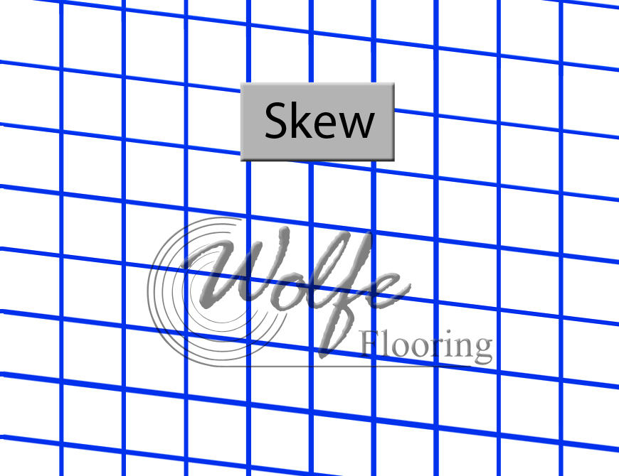 Skew Defect