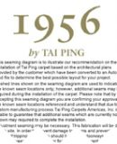 Tai Ping Carpet's Installation Summary