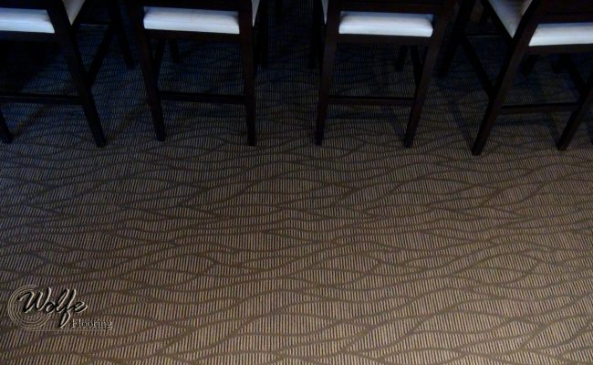 2016 Downtown Restaurant Double-stick Carpet Installation (04)