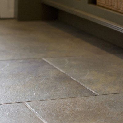 Daltile's Continental Slate Porcelain in color of Brazilian Green
