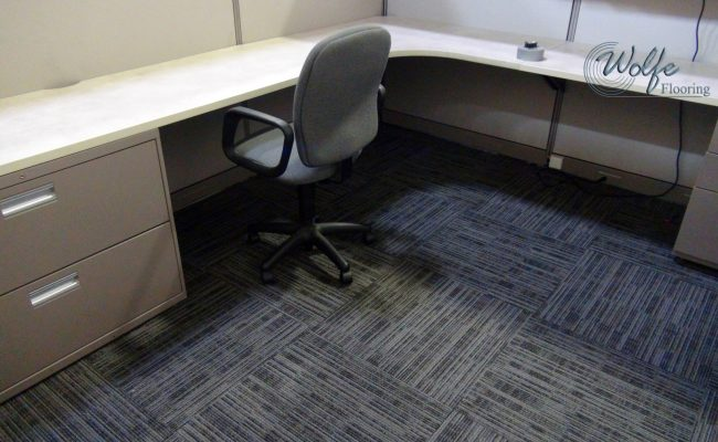 Flags Unlimited 06 Carpet Tile in Cubicle
