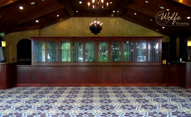Custom Carpet for Golf Club's Restaurant (4)