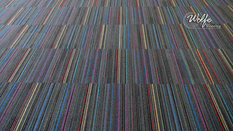 Interface Roy G Biv Carpet Tile 7447 Shadow Gray